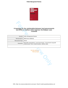 relationship between public administration and business economics