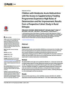 Moderate Acute Malnutrition (MAM) and Severe Acute Malnutrition (SAM) in Sierra Leone