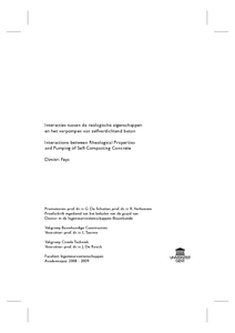 Self compacting concrete phd thesis